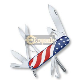 Swiss Army Knife Supper Tinker U.S. Flag 91mm