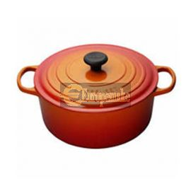 Le Creuset Round French Oven-8.1 L, 7-8 servings-Flame