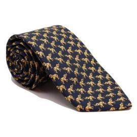 Andrew's Milano Elephant Twill Silk Tie