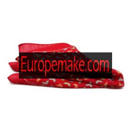 Andrew's Milano Red Butterfly Pocket Square