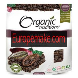 Organic Traditions Cacao Beans 227g