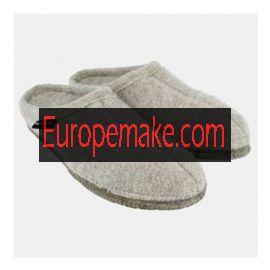 Haflinger Women's Slipper Alaska Size-42.Stone