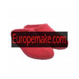 Haflinger Women's Slipper Alaska size-36,Brick-Red