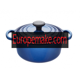 Le Creuset Round French Oven-8.1 L, 7-8 servings-Blueberry