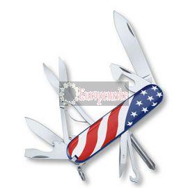 Swiss Army Knife Supper Tinker U.S. Flag 91mm