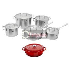 ZWILLING Passion 10 pc Cookware Set w/ free Oval Cocotte