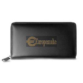 Caran D'Ache BLACK PASSPORT HOLDER WITH ZIP