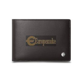 Caran D'Ache EBONY 10-CARD WALLET WITH COIN CASE