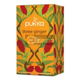 Pukka Teas Three Ginger 20sac