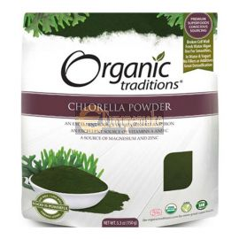 Organic Traditions Chlorella Powder 150g