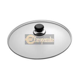 "SCANPAN Classic 18cm/7"" Glass Lid In Sleeve"