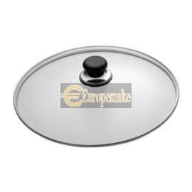 "SCANPAN Classic 24cm/9"" Glass Lid In Sleeve"