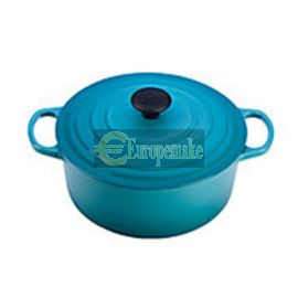 Le Creuset Round French Oven-8.1 L, 7-8 servings-Carribbean