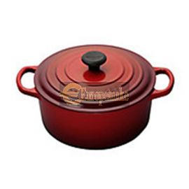 Le Creuset Round French Oven-8.1 L, 7-8 servings-Cerise