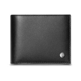 Caran D'Ache BLACK 4-CARD WALLET WITH COIN CASE
