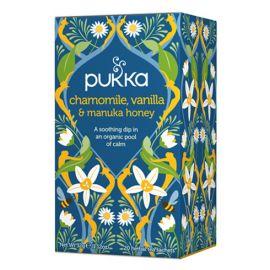 Pukka Teas Chamomile, Vanilla & Manuka Honey 20sac