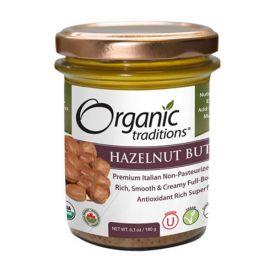 Organic Traditions Roasted Hazelnut Butter 180g